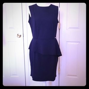 Numco Khloe Dress in Navy Blue
